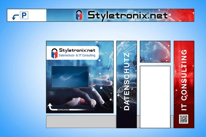 SCHAUFENSTER-STYLETRONIX-MAK-MEDIA-WERBE