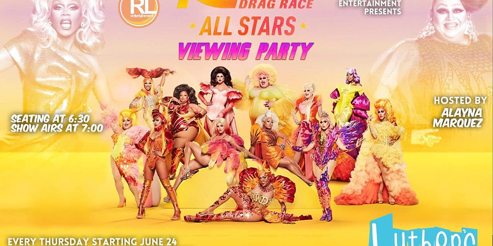 Drag Race All Stars Viewing Party