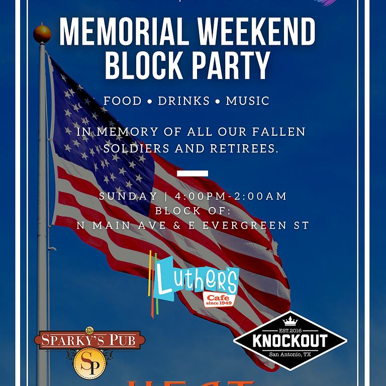 Memorial Weekend Block Party