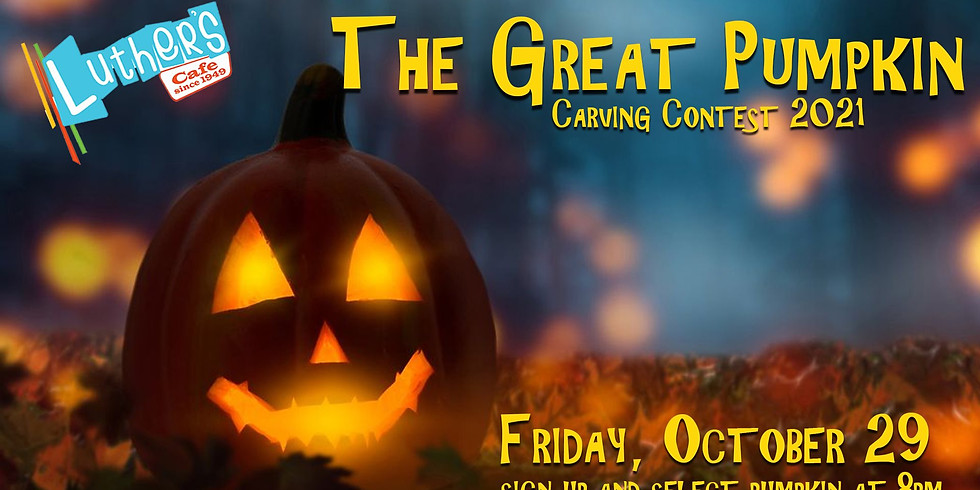 The Great Pumpkin: Carving Contest 2021
