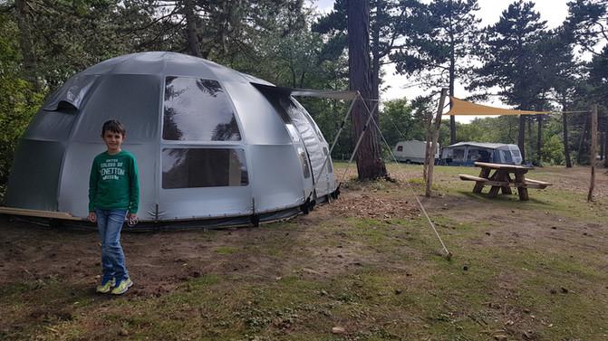 Création de la tente pop-up Air Space