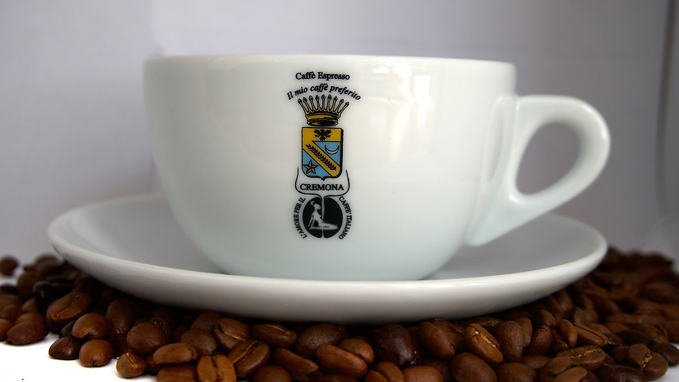 Latte-Macchiatotasse aus Porzellan // CREMONA