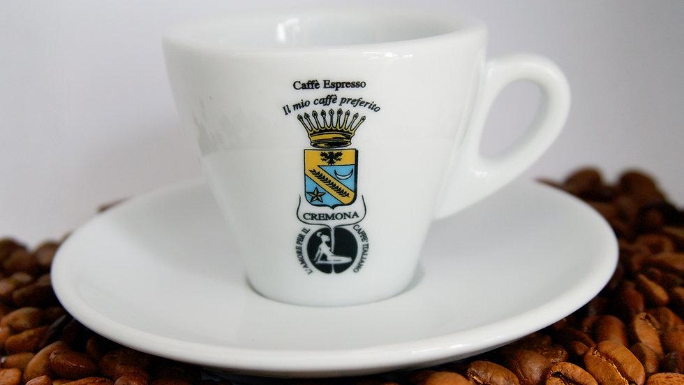Espressotasse Typ Torino aus Porzellan // CREMONA