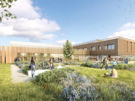 Vendée : Un lycée nature en structure bois et isolation paille