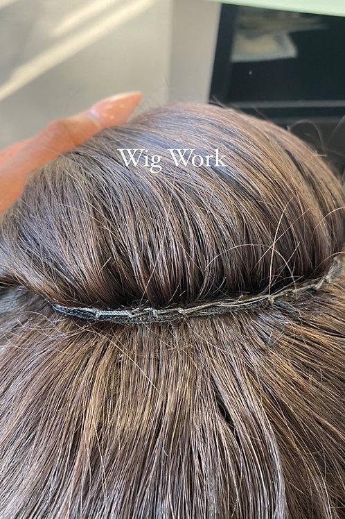 Custom Wig Construction Add On