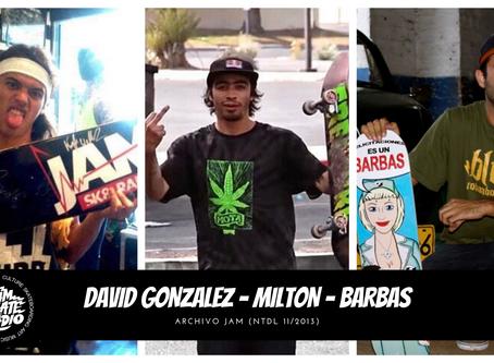 DAVID GONZALEZ - MILTON MARTINEZ - BARBAS ARCHIVO JAM 11/2013