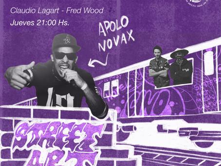 ESPECIAL STREET ART - INVITADO APOLO NOVAX