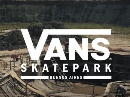 Vans Skatepark: continúa la obra y sigue avanzando