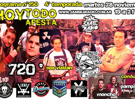 720º | ASESINATO EN MASA -- HTA #150 -- 28-11-17