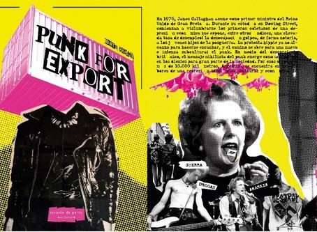 PUNK FOR EXPORT, de Londres a Buenos Aires- Martín Droghei