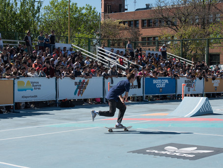 """SKATE COPA COURT"" Buenos Aires 2017"