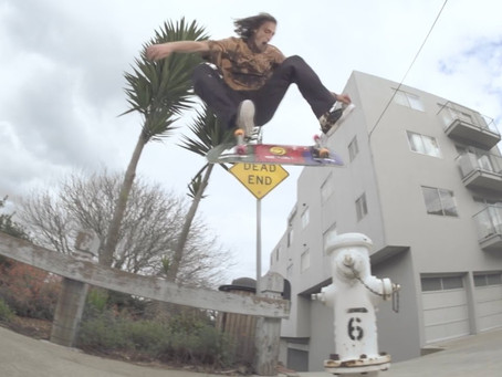 Evan Smith: Video Part para Spitfire