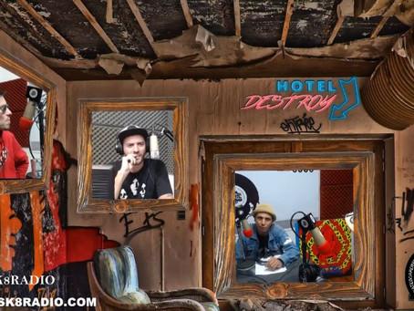 HOTEL DESTROY CAP 5 - VIDA CHATARRA. JUANCHO DEL PAPA, ARTISTA/SKATER 3-5-18