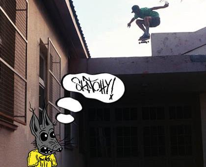 Sketchy Skate Zine #2