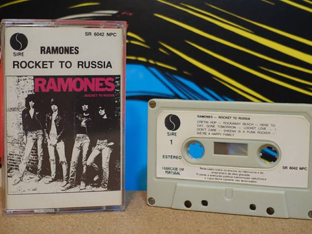 BARRIO CHINO #20 - 40 años de Rocket to Russia - RAMONES