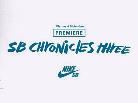4/12 PREMIER DEL NIKE SB CHRONICLES 3!