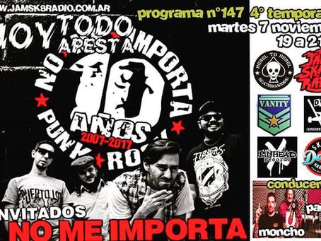 NO ME IMPORTA 10 años - HOY TODO APESTA #147