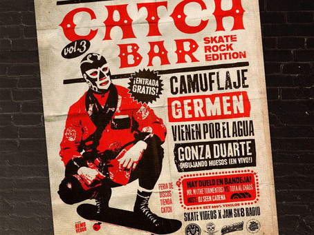 CATCH BAR VOL.3 en the ROXY LIVE! Skate Rock Edition