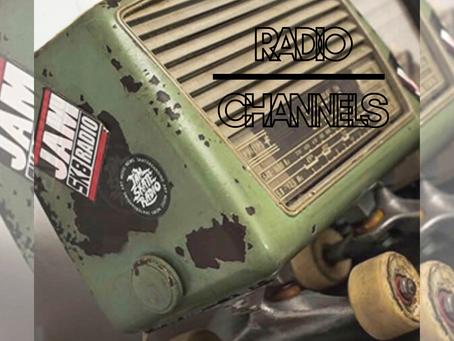 JAM SK8 RADIO CHANNELS