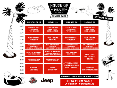 House of Vans Summer Camp: un festival de cuatro días en Chapadmalal