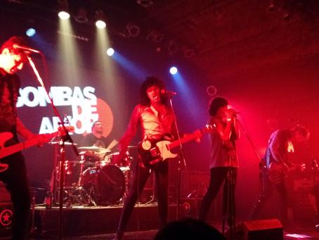 BOMBAS DE AMOR -- ROXY LIVE -- 19-01-2018