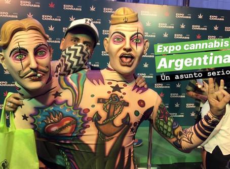 EXPO CANNABIS ARGENTINA: Un asunto serio.
