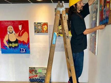 SKATE-ART: MARIANO GONZALEZ, EL ARTE ESTA A FULL