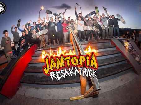 #ESQUELETOUR - JAMTOPIA RESAKA TRICK