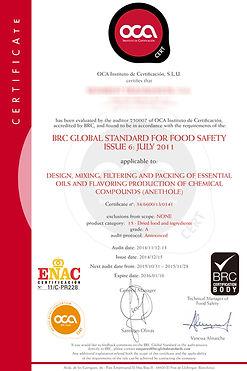 BRC certificate (Food Safety) 2015.jpg