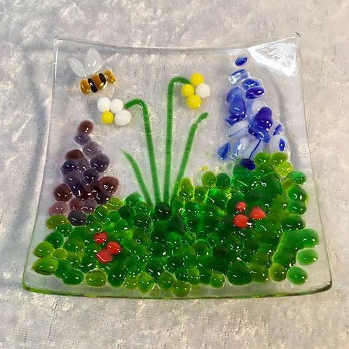 Flower Meadow Teabag/Trinket Dish