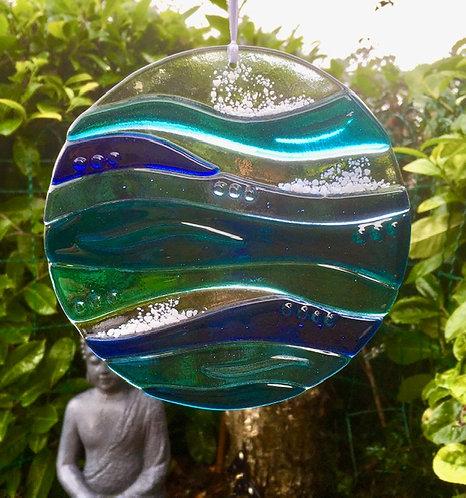 Waves Garden Art