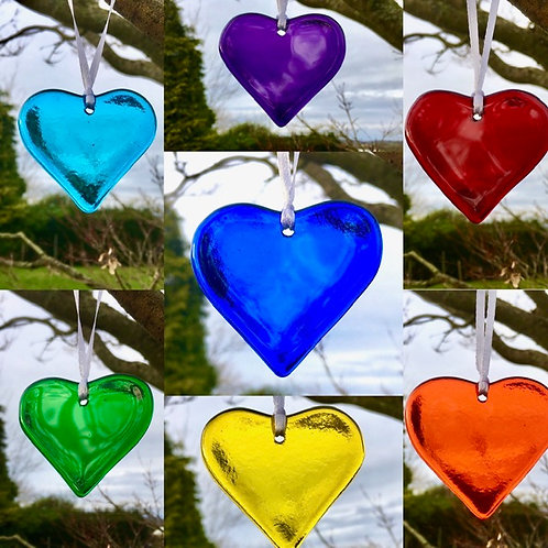 Single Coloured Hearts