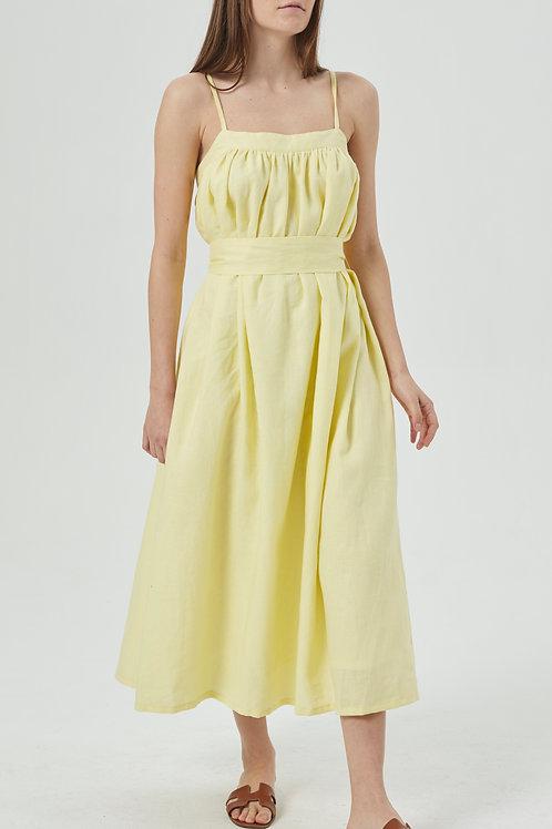 Robe en lin Lemon