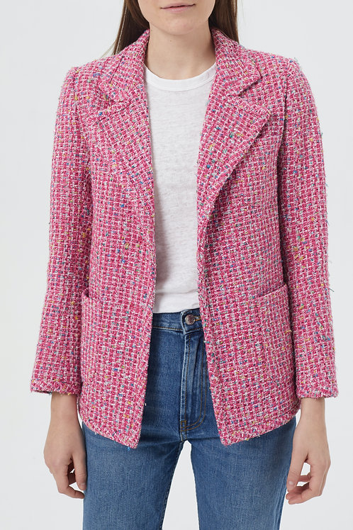 Veste en tweed Amanda