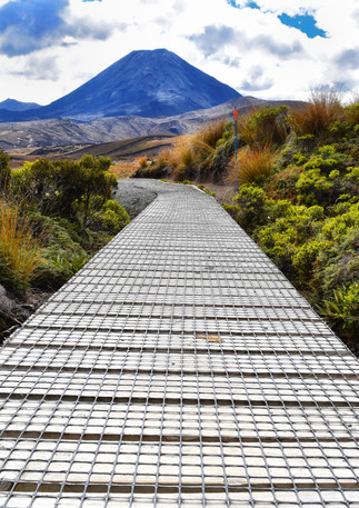 Boardwalk tongariro national park tama l