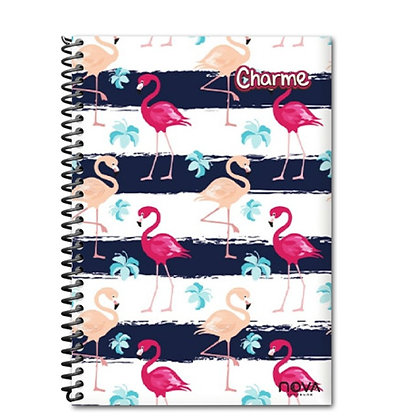 Caderno Universitário - charme