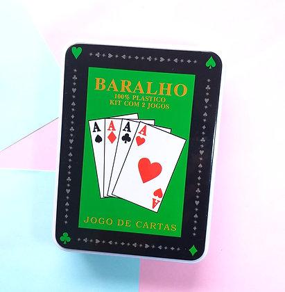 Baralho - KIT c/ 2 jogos