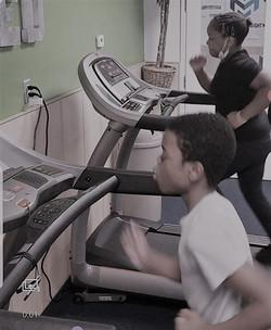 Treadmill B & W