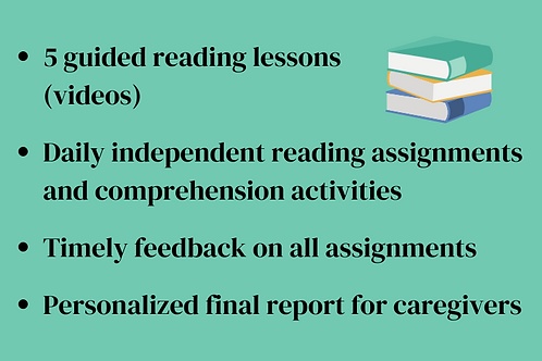 Level 1-2 Reading Session