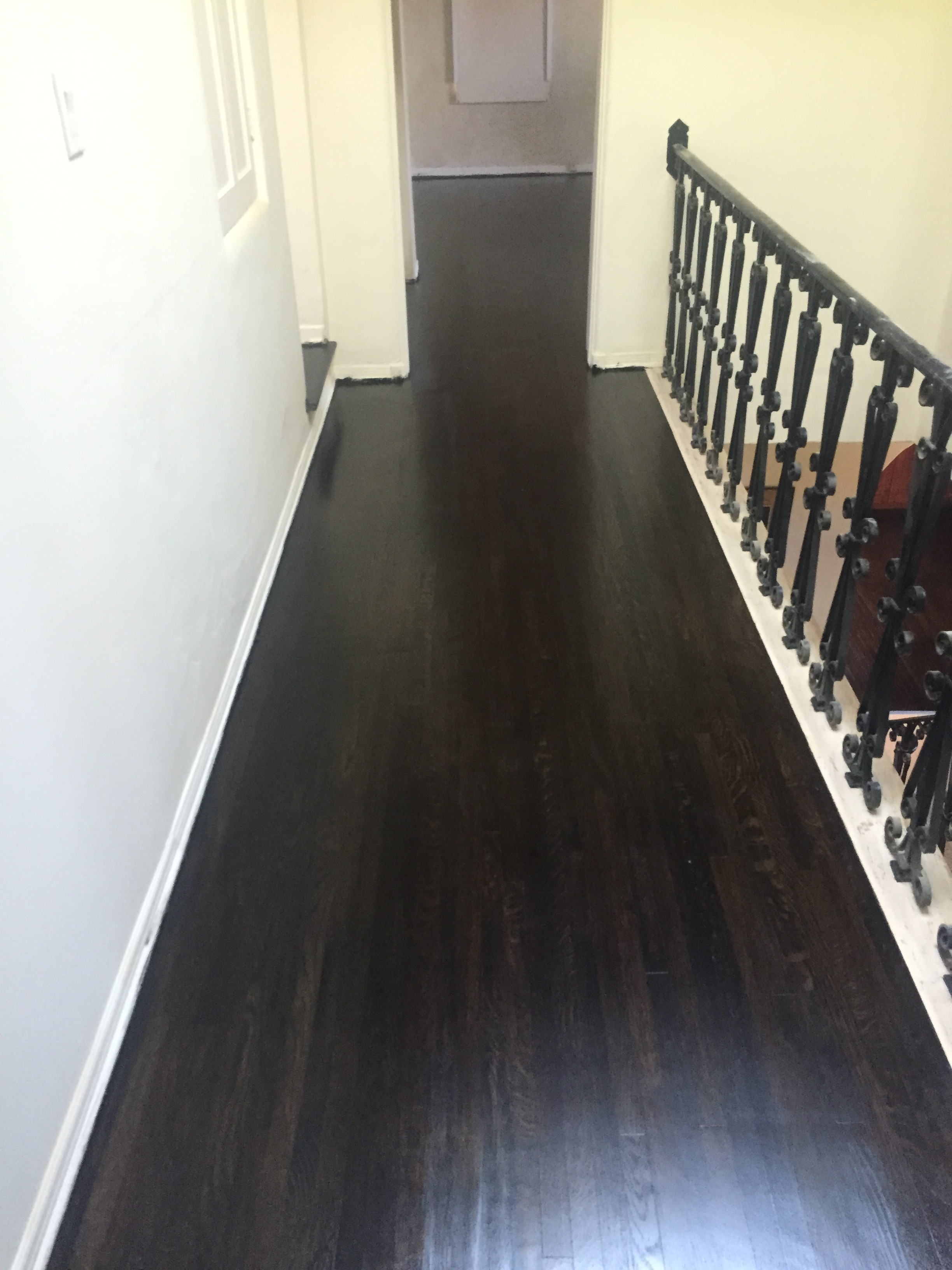 Hallway - After refinishing