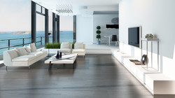 Luxury living room interior with white couch and seascape view_edited