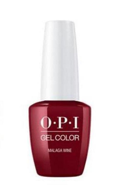 OPI Gel Color (Malaga Wine)