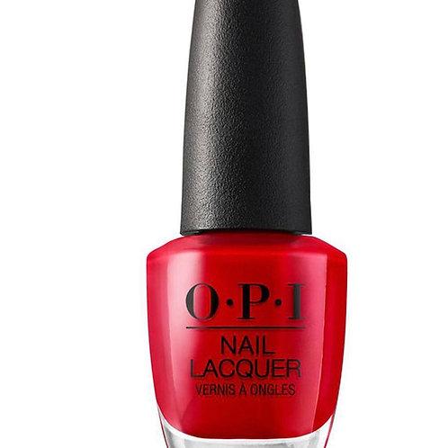 OPI Regular Polish (Big Apple Red)