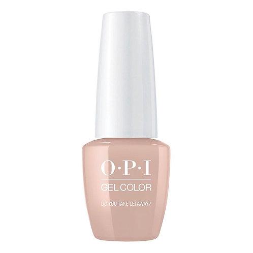 OPI Gel Color (Do You Take Lei Away?)