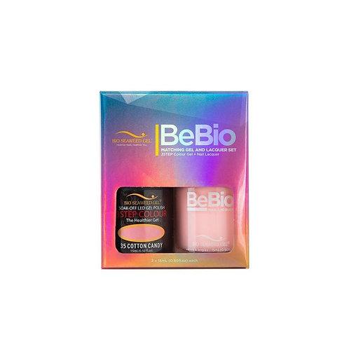 Bio Seaweed Matching Gel/Lacquer Set( Cotton Angel)
