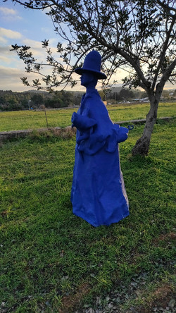 Blue lady, different angle