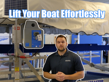 Boat Lift Electric Motors | ShoreMaster Hoist Drive Systems
