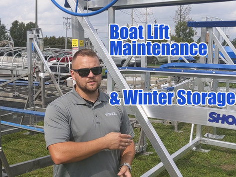 What Maintenance Does Your Boat Lift Need?   ShoreMaster Boat Lifts
