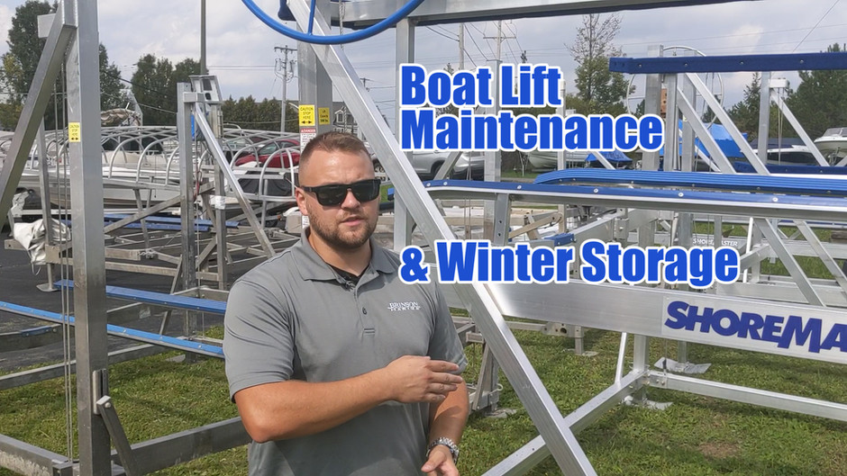 What Maintenance Does Your Boat Lift Need? | ShoreMaster Boat Lifts