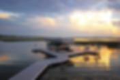 Curved ShoreMaster Dock